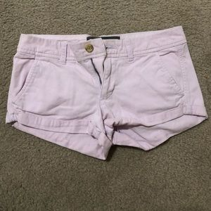 Abercrombie and Fitch Baby Pink Shorts